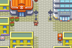 Pokemon Shiny Gold - Location Goldenrod City - I look like a boss! - User Screenshot
