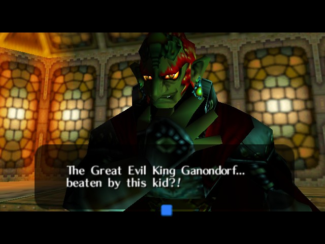 The Legend of Zelda - Ocarina of Time - Battle  - How dare you? - User Screenshot