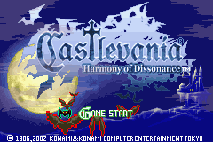 Castlevania - Harmony of Dissonance - Introduction  -  - User Screenshot