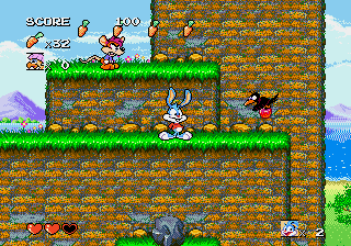 Tiny Toon Adventures - Busters Hidden Treasure -  - User Screenshot