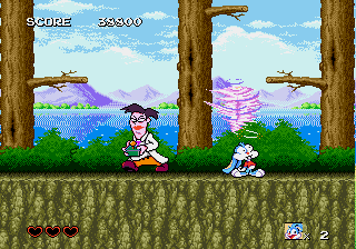 Tiny Toon Adventures - Busters Hidden Treasure - Derp - User Screenshot
