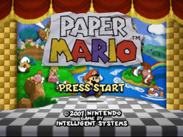 Paper Mario - Introduction  - The adventure begins - User Screenshot