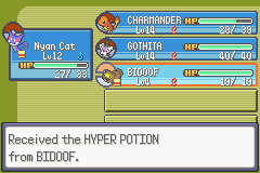 Pokemon Flora Sky - Complement Dex Version - Misc Extremely Good Luck - Pickup Bidoof for the win - User Screenshot