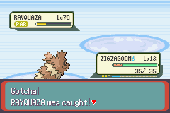 Pokemon Emerald - Battle  - my zigzagoon.. yeah - User Screenshot