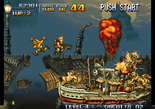Metal Slug - Super Vehicle-001 - soldiers boat - User Screenshot