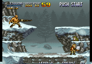 Metal Slug - Super Vehicle-001 - mini boss - User Screenshot