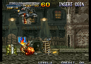 Metal Slug - Super Vehicle-001 - level 7 - User Screenshot
