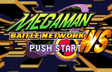 Rockman EXE WS (english translation) - start screen - User Screenshot