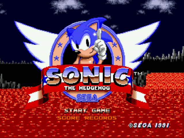 An Ordinary Sonic ROM Hack - Misc Secret - Normal Sonic in .exe Mode - User Screenshot