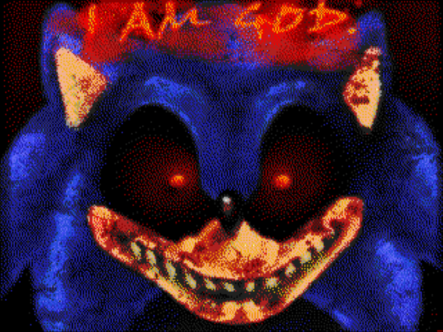 An Ordinary Sonic ROM Hack (beta) - BOO! Exorcist and Jeff The Killer are scarier - User Screenshot