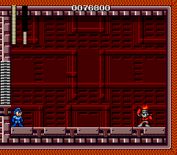Mega Man - The Wily Wars - Megaman VS Fireman - User Screenshot