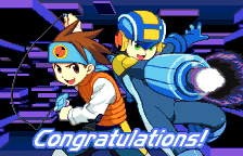 Rockman EXE WS (english translation) - Ending  - Super Congratulations! - User Screenshot