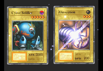 Yu-Gi-Oh! Forbidden Memories - Battle  - Who needs Cyber Soldier? Well..me, actually - User Screenshot