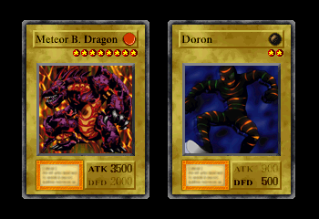 Yu-Gi-Oh! Forbidden Memories - Character Profile Meteor B Dragon - Um...hello pain... - User Screenshot