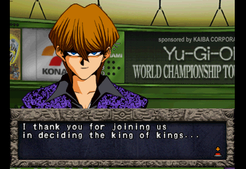Yu-Gi-Oh! Forbidden Memories - Character Profile Kaiba - No, Kaiba, that would be Jesus - User Screenshot