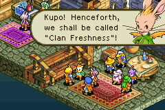 Final Fantasy Tactics Advance Anarchy - Misc Clan naming - PERFECT! - User Screenshot