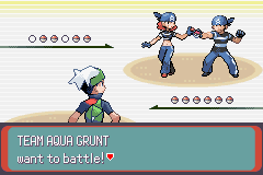 Pokemon Emerald - Battle  - BROBALLS. - User Screenshot