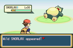 Wild SNORLAX appeared!