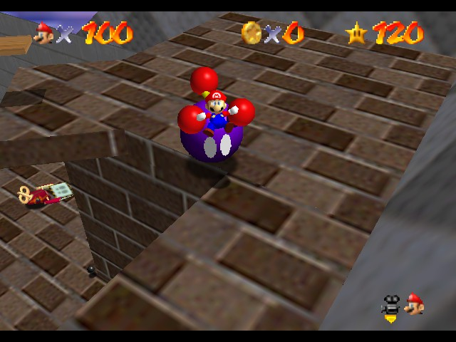 Super Mario 64 - Battle  - . - User Screenshot
