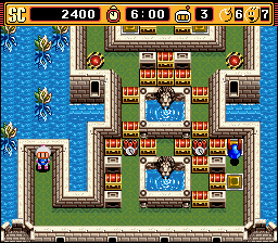 Super Bomberman 2 - Stage 1-6 - User Screenshot