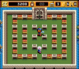 Super Bomberman 2 - Stage 1-7 - User Screenshot