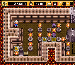 Super Bomberman 2 - Stage 2-2 - User Screenshot