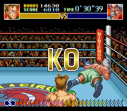 Super Punch-Out!! - Gabby Jay under a minute - User Screenshot
