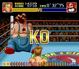 Super Punch-Out!! - Bear Huger under a minute - User Screenshot