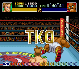 Super Punch-Out!! - Bald bull under a minute - User Screenshot