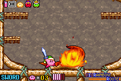 Kirby & the Amazing Mirror - Battle  - Volvagia defea- Wait wrong game. - User Screenshot