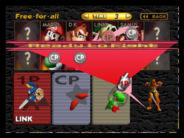 play super smash bros hd online n64 rom hack of super