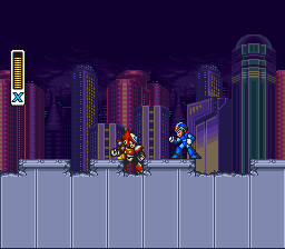 Mega Man X3 - Cut-Scene  - X: You