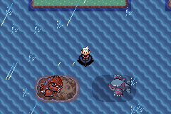 Pokemon Tiberium - Battle  - Dont mind me. Just fishing - User Screenshot
