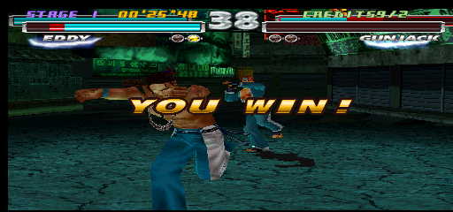 Tekken Tag Tournament (US, TEG3-VER.C1) - Misc You Win - Best team ever in tekken - User Screenshot