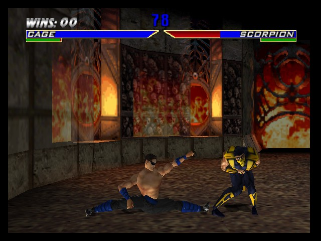 Mortal Kombat 4 - Battle  - good luck having kids - User Screenshot