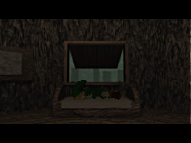 The Legend of Zelda - Ocarina of Time - Cut-Scene  - Forget about the world! I want to sleep! - User Screenshot