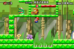 Mario vs. Donkey Kong - Level  - i pooped - User Screenshot