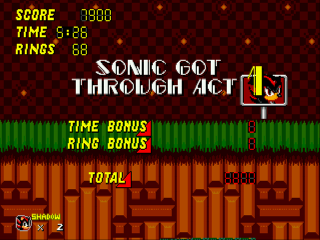 Sonic 2 - Project Shadow - Ending  - What? No, it