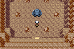 Pokemon Sapphire - Location Ancient Tomb - Registeel - User Screenshot