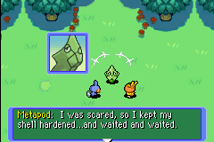 Pokemon Mystery Dungeon - Red Rescue Team - Cut-Scene  - LOL WUT - User Screenshot