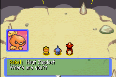 Pokemon Mystery Dungeon - Red Rescue Team - Cut-Scene  - COME AT ME BRO - User Screenshot