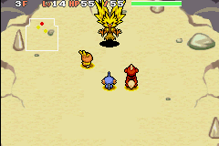 Pokemon Mystery Dungeon - Red Rescue Team - Battle  - HERE WE GO - User Screenshot
