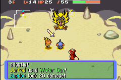 Pokemon Mystery Dungeon - Red Rescue Team - Battle  - HOW DID I BEAT IT - User Screenshot