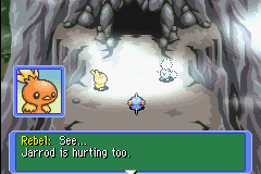 Pokemon Mystery Dungeon - Red Rescue Team - Cut-Scene  - OWWWWWWW - User Screenshot