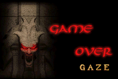Lara Croft Tomb Raider - The Prophecy - Gameover  - NOOOOOOOO - User Screenshot