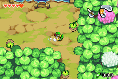 The Legend of Zelda - The Minish Cap (demo) - Im a perfect ball - User Screenshot