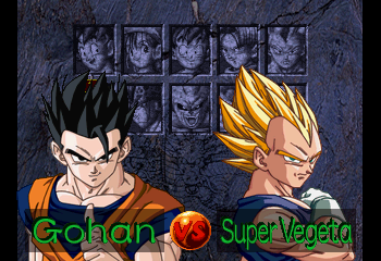Dragon Ball GT: Final Bout - Gohan vs Super Vegeta. - User Screenshot