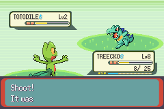 Pokemon Rebirth - Battle  - I was looking for this pokemon and ;aaaa; - User Screenshot