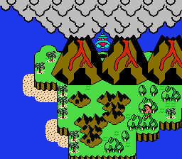 Adventure Island 3 - Location  - 8th world - User Screenshot
