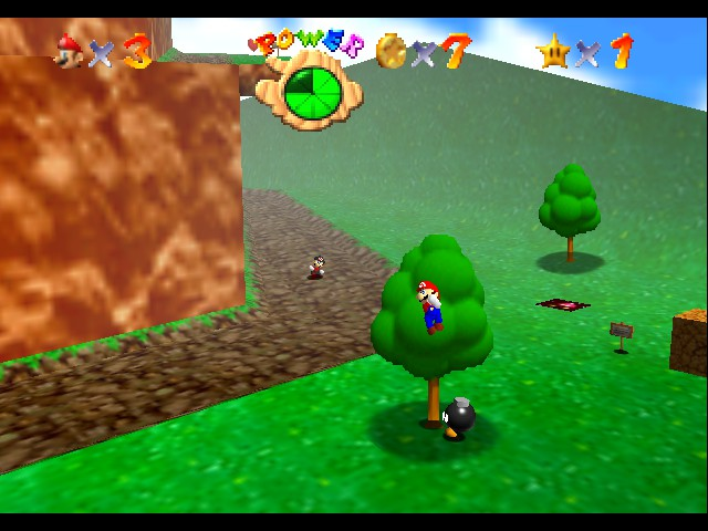 Super Mario 64 - Multiplayer - Location  - tell me what you want - User Screenshot